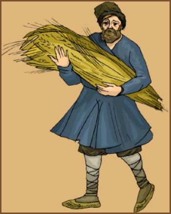 Wissenskarten zum thema bauern und landwirtschaft im mittelalter