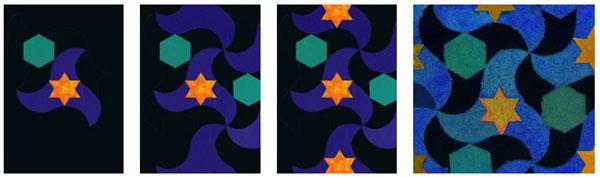 Arabisches mosaik 1 medienwerkstatt wissen 2006 2017 medienwerkstatt - Mosaik vorlagen zum ausdrucken ...