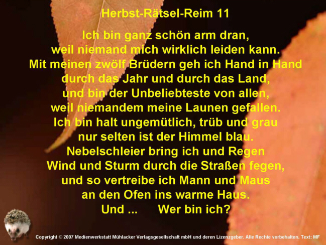 Herbst-Ru00e4tsel-Reim 11 - Medienwerkstatt-Wissen u00a9 2006-2017 Medienwerkstatt