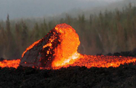 Wie Entstehen Vulkanausbrüche