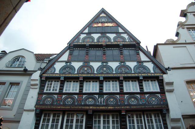 Fachwerkhaus aus der zweiten hälfte des 16. jahrhunderts
