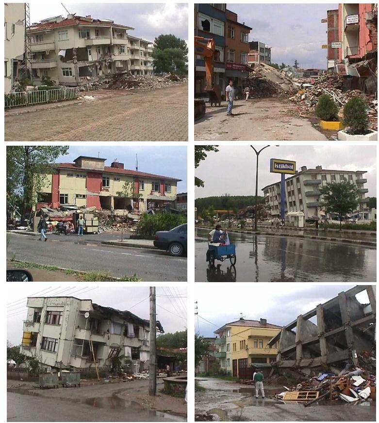 Erdbeben in der türkei im jahre 1999 fotos aus izmit