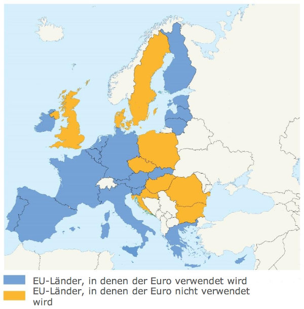 Welche Europäischen Länder Sind Nicht In Der Eu
