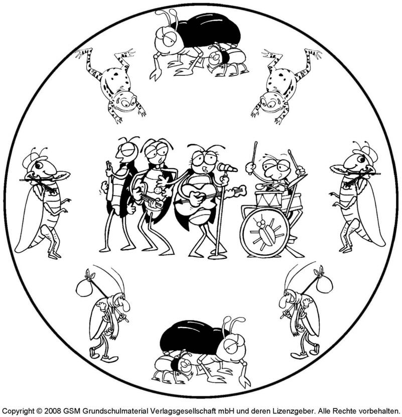 Tier-Mandala 2 - Medienwerkstatt-Wissen © 2006-2017 Medienwerkstatt