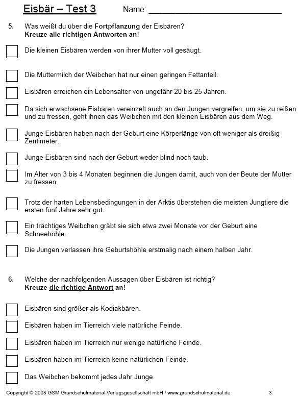 Test Zum Thema Eisbär Teil 3 Medienwerkstatt Wissen 2006 2017