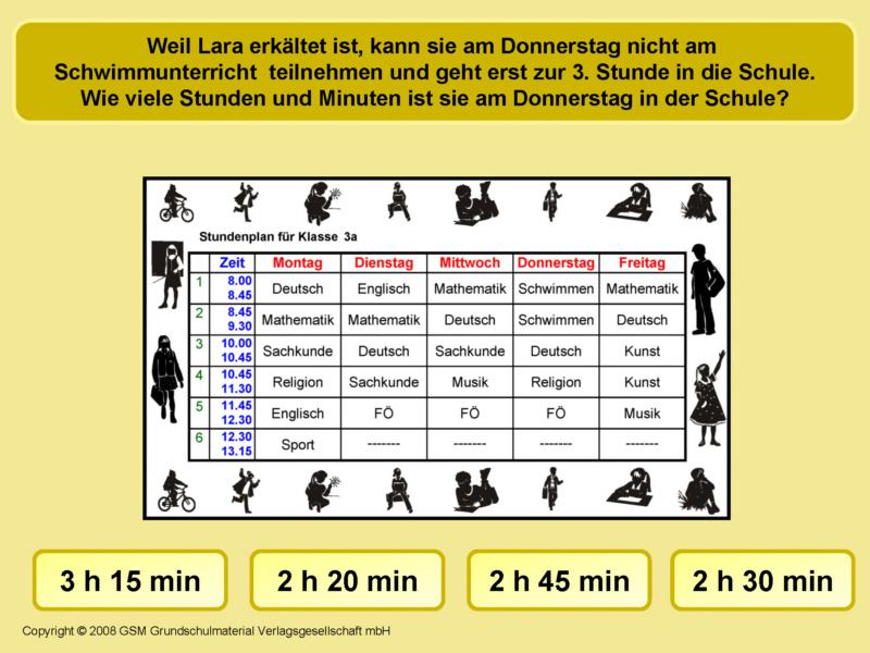 Zeitspannen am Stundenplan 2 - Medienwerkstatt-Wissen © 2006-2017 ...