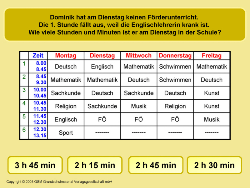 Zeitspannen am Stundenplan 6 - Medienwerkstatt-Wissen © 2006-2017 ...