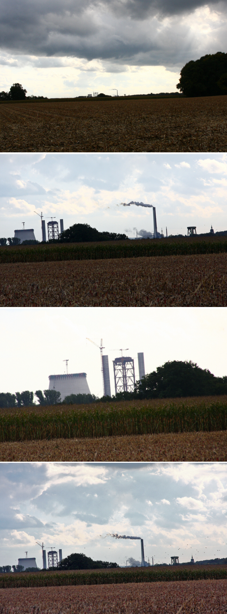 oktober 08 fotos der kraftwerkbaustelle von olfen   h u00f6he alte fahrt medienwerkstatt wissen energielabel energies journal