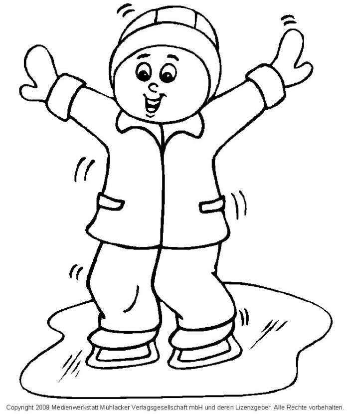 Malvorlagen Winter Kinder | My blog