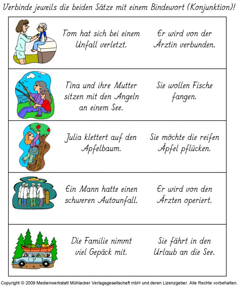 German Conjunctions German Grammar Learn