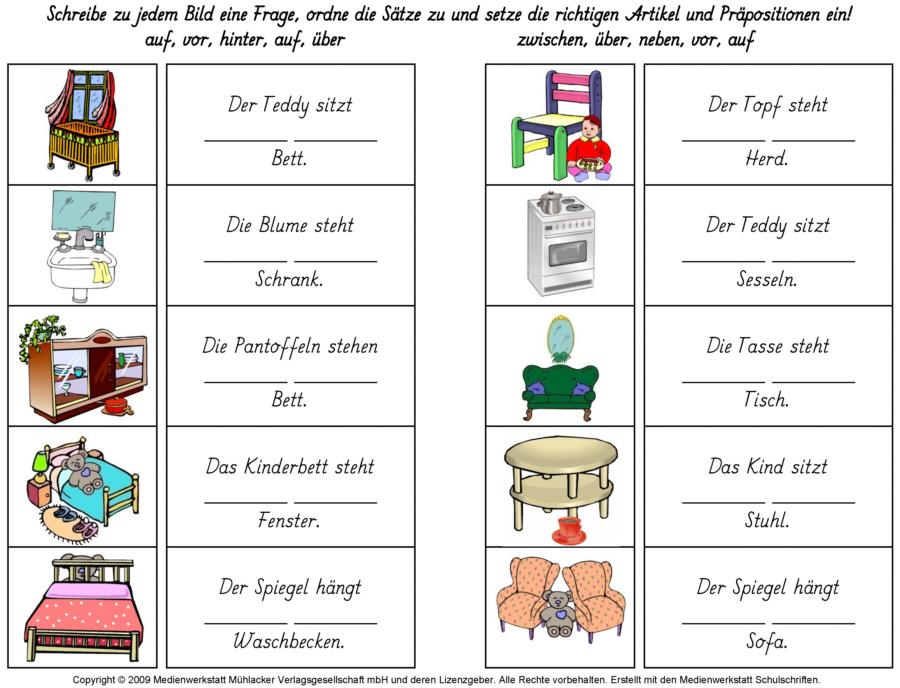 Englisch Pronomen Übersicht Übungen Tabelle