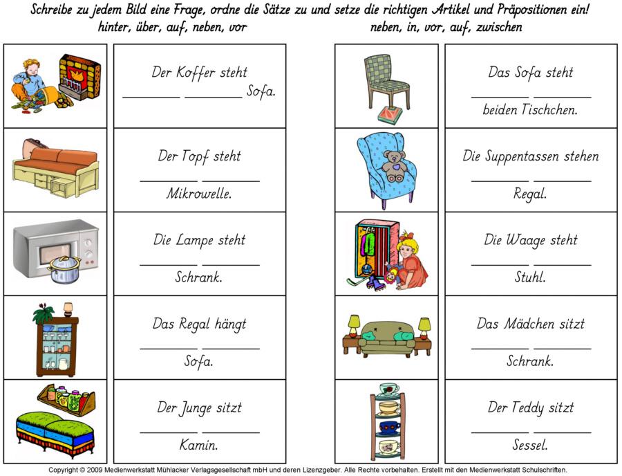 Wegbeschreibung  Wegbeschreibung Deutsch und Schule