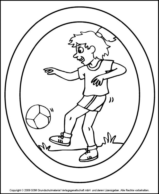 Fensterbild: fußball 1