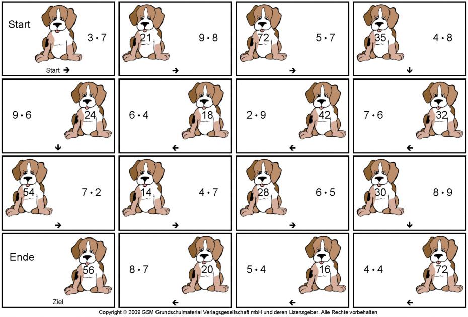 Übungen Mathe Klasse 2 kostenlos zum Download  lernwolfde