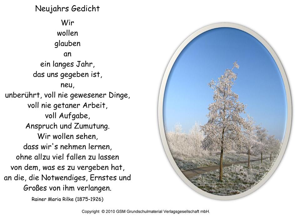 Neujahrs Gedicht (Rainer Maria Rilke) - Medienwerkstatt-Wissen © 2006 ...: www.medienwerkstatt-online.de/lws_wissen/vorlagen/showcard.php?id...