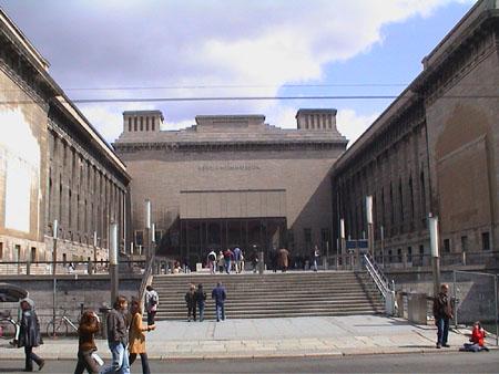 Pergamonmuseum bauarbeiten