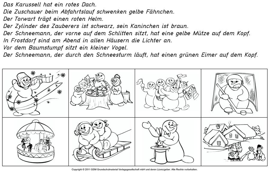 Frostdorf - Lese-Mal-Blatt - Medienwerkstatt-Wissen © 2006-2017 ...