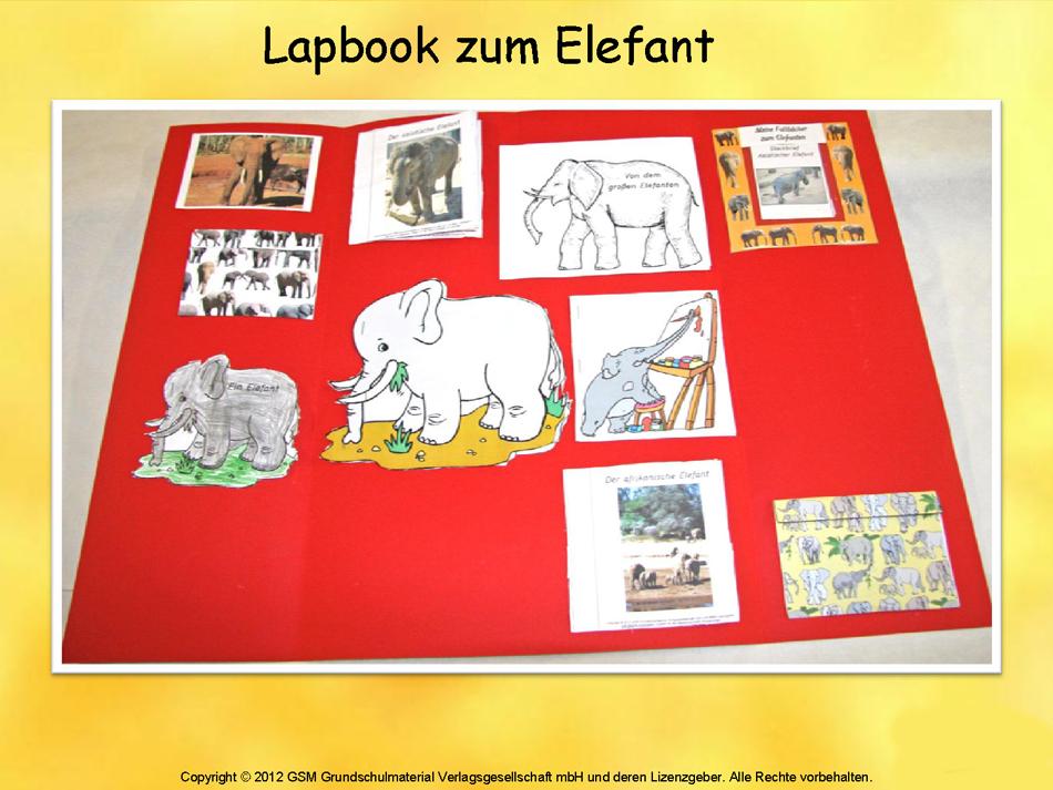 Lapbook grundschule