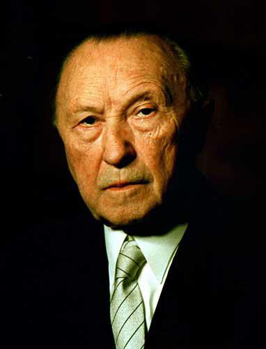 abb - Konrad Adenauer Lebenslauf