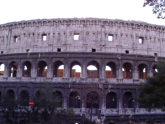 rom früher und heute