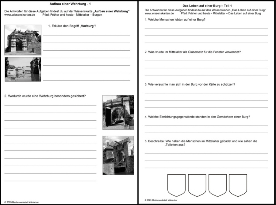 """Lehrerseite zum Thema: """"Mittelalter - Ritterzeit"""" - Medienwerkstatt ..."""