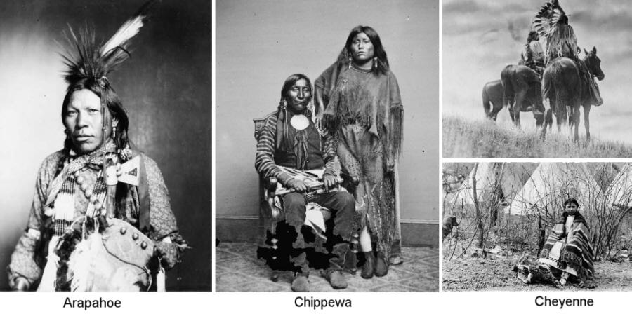 Der Nordosten (Irokesen, Chippewa, Blackfoot, Kickapoo ...  Der Nordosten (...