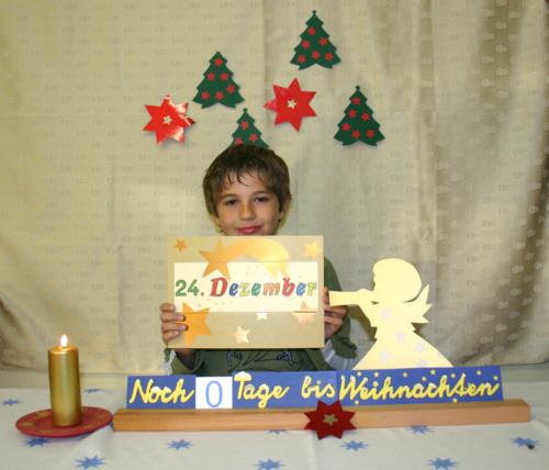 1 adventskalender 2006: