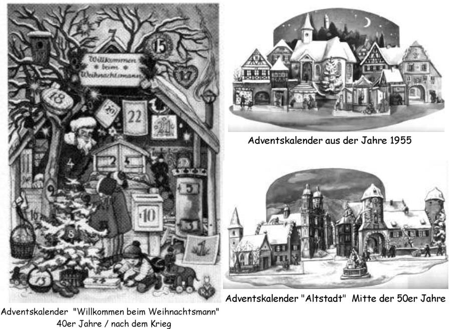 Die geschichte des ersten adventskalenders