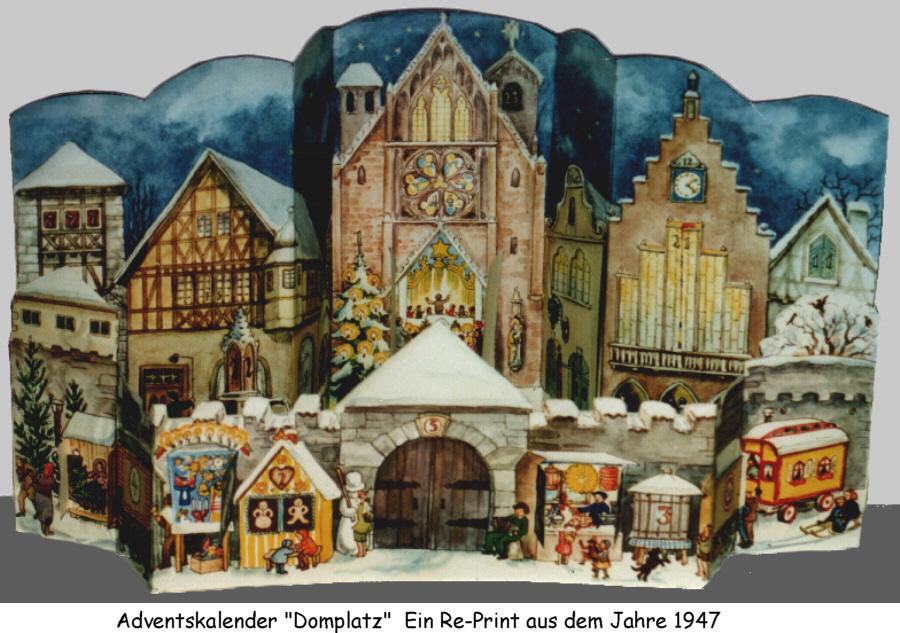 Elegant Ebenso Fertigte Die Badische Sankt Johannis Druckerei Anfang Der 20er Jahre  Religiöse Adventskalender, Deren Geöffnete Fenster Bibelverse Anstatt Bilder  ...