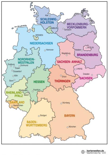 Wo Liegt Niedersachsen