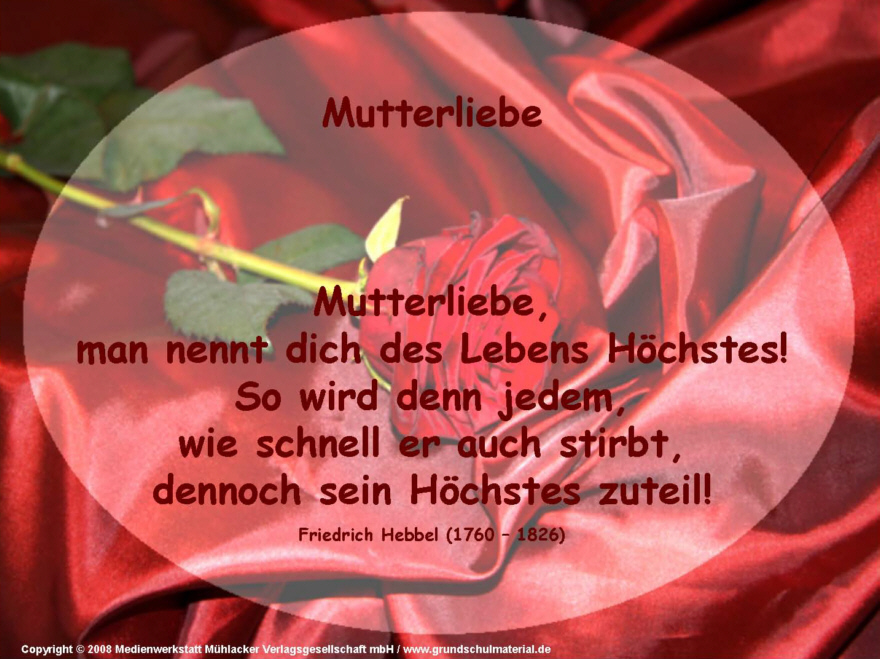 Mutterliebe (Friedrich Hebbel) - Medienwerkstatt-Wissen © 2006-2015 ...