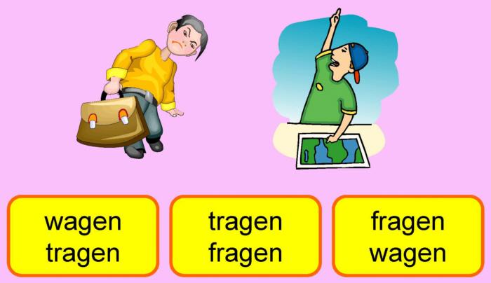 Reimwu00f6rter - Startkarte 2 - Medienwerkstatt-Wissen u00a9 2006 ...