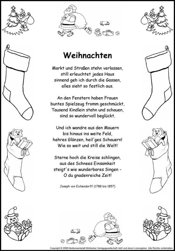 Wann Ist Weihnachten Gedicht
