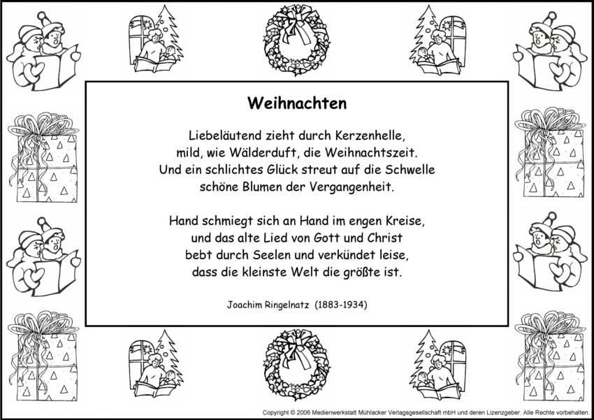 gedicht weihnachten grundschule my blog. Black Bedroom Furniture Sets. Home Design Ideas