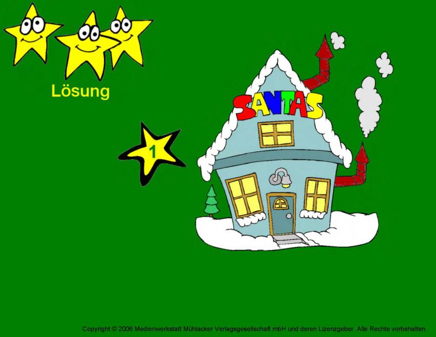 weihnachts bilderr tsel karte 25 medienwerkstatt wissen. Black Bedroom Furniture Sets. Home Design Ideas