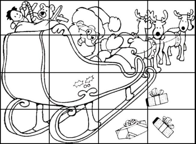 puzzle zum ausdrucken