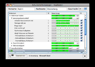 produkte schulberichtsmanager 10 mac und linux details