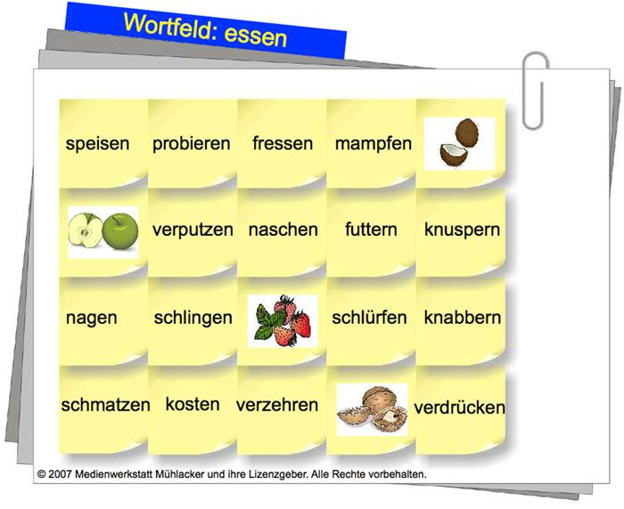 abb - Wortfelder Beispiele