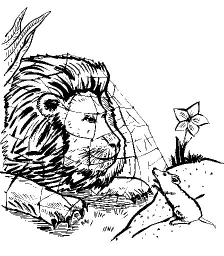 der löwe und das mäuschen - medienwerkstatt-wissen © 2006
