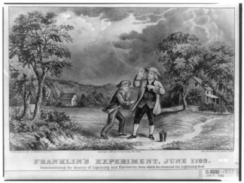 Benjamin Franklin - Der Erfinder des Blitzableiters ...