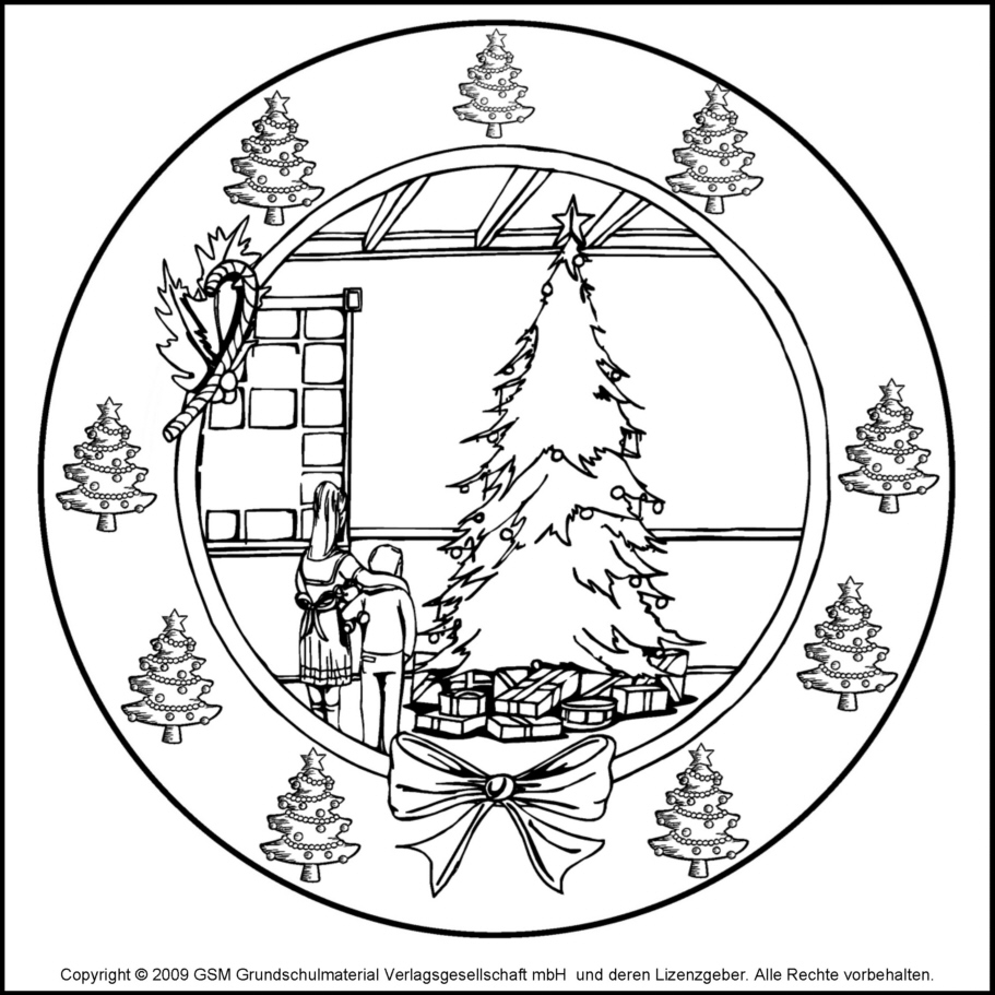 Weihnachts-Mandala 11 - Medienwerkstatt-Wissen © 2006-2017 ...