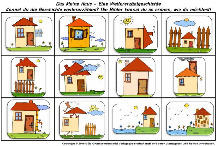 Das kleine Haus - Eine Weitererzählgeschichte - Medienwerkstatt ...