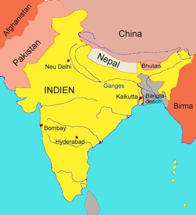 Karte Von Indien Medienwerkstatt Wissen C 2006 2017 Medienwerkstatt