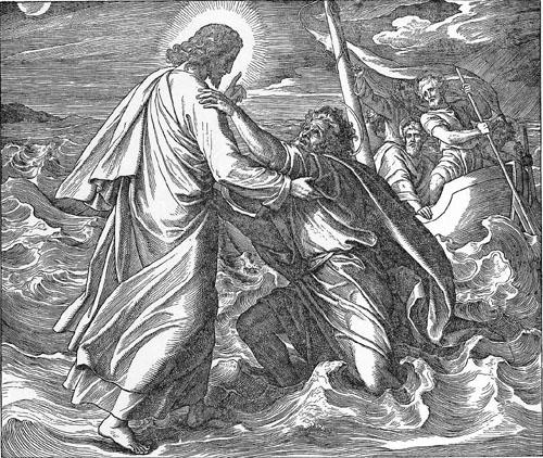 Jesus Und Petrus