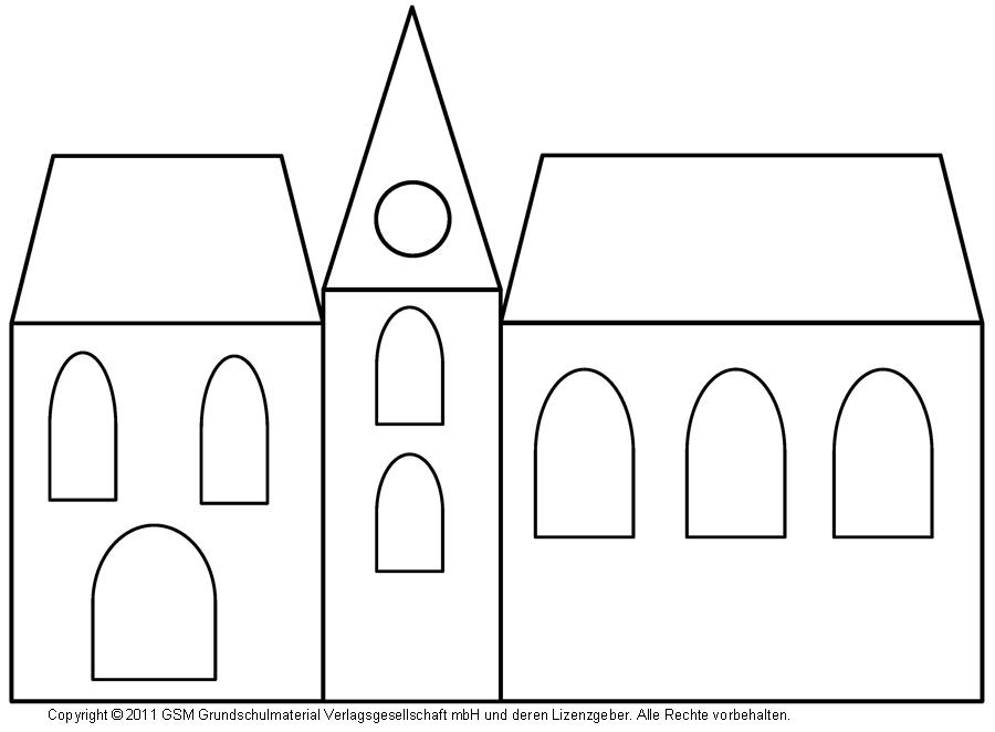 fensterbild häuser mit transparentpapier 4