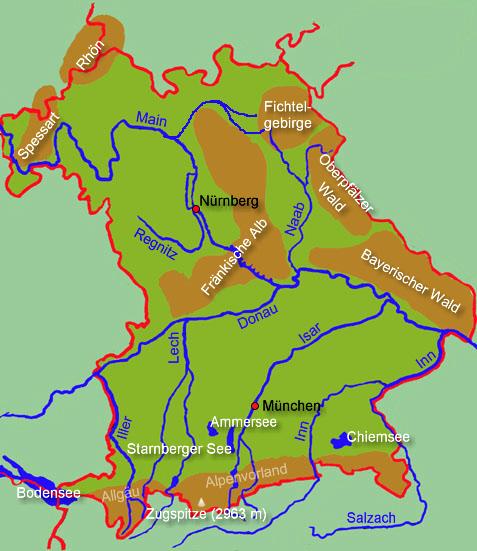 Bayern Flüsse