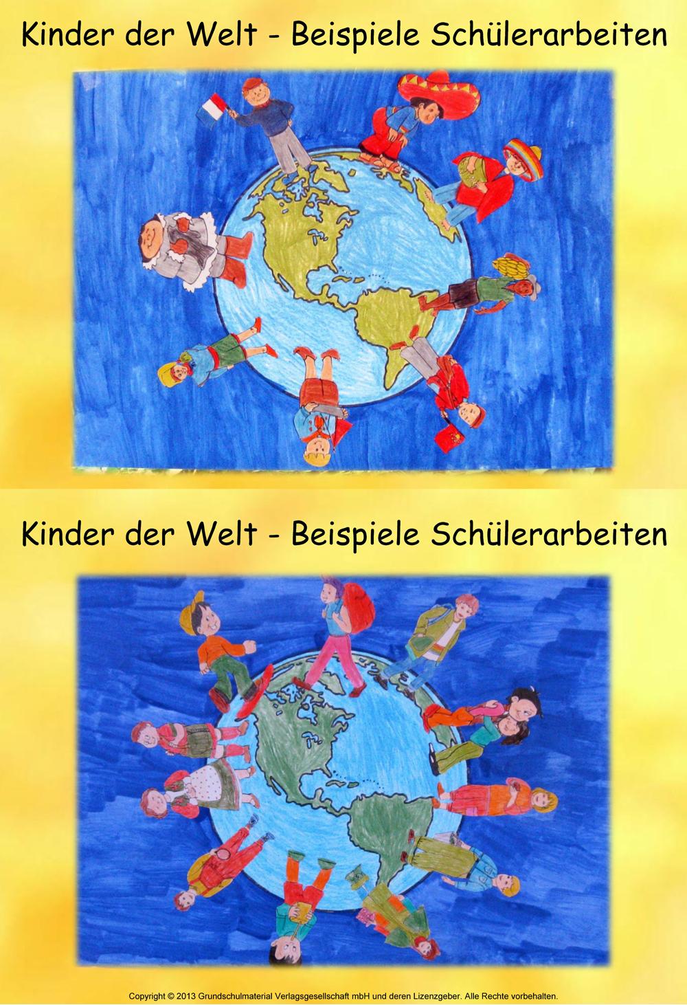 Malvorlagen Welt