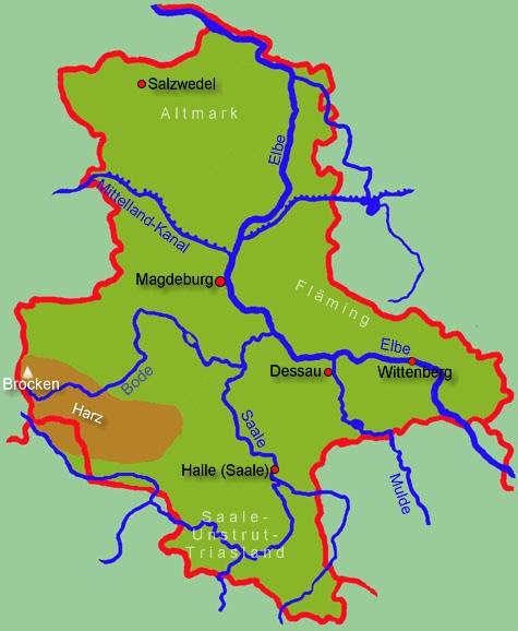 Karte Sachsen Anhalt.Sachsen Anhalt Allgemein Medienwerkstatt Wissen 2006 2017