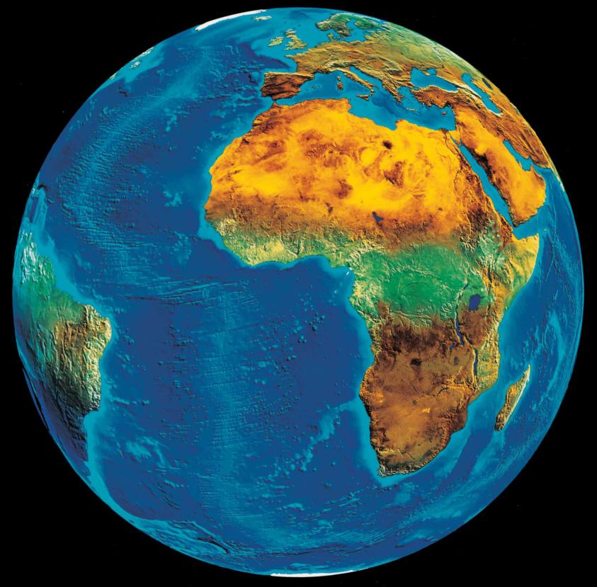 Meteosat 5 : Die wolkenfreie Erde   Medienwerkstatt Wissen © 2006