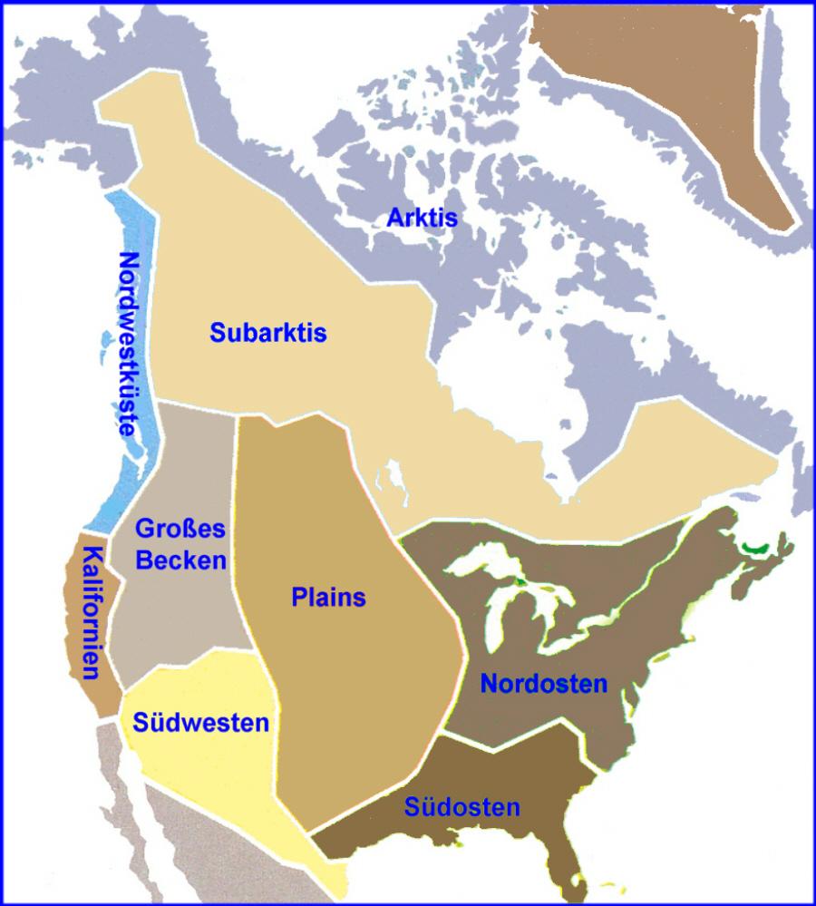 Indianerstamme Nordamerikas Karte.Sprachgruppen Allgemein Medienwerkstatt Wissen C 2006 2017